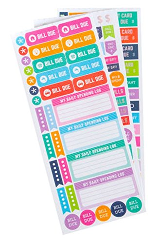 amazon com recollections budget planner stickers budget planner