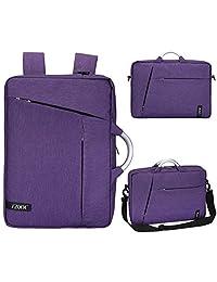 Laptop Bag 15.6 Inch, S-ZONE 3-Way Convertible Laptop Briefcase Messenger Bag Backpack Knapsack