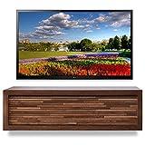 Woodwaves Floating TV Stand - ECO GEO Mocha