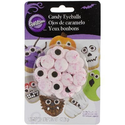 Wilton 710-0167 Red Vein Candy Eyeballs