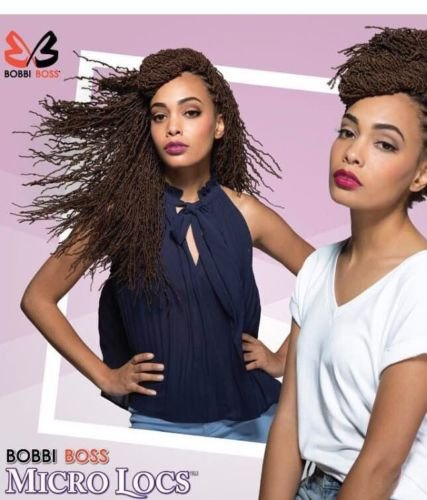 Bobbi Boss Synthetic Hair Crochet Braids African Roots Braid Collection Micro Locs 18