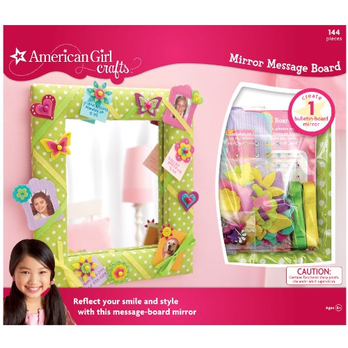 Mirror Craft Kit - American Girl Crafts Mirror Message Board Kit