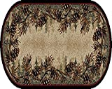 Mayberry Rugs Rustic Lodge Mount Le Conte Area