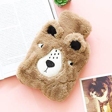 warmes Geschenk Shuda Creative s/ü/ße weiche W/ärmflasche h/ält warm und lindert Schmerzen und Komfort f/ür Familienliebhaber und Freunde