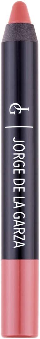 Jorge De La Garza Makeup Lip Velvet Barra De Labios Jumbo Waterproof Marrón Claro 21 Nude Amazon Es Belleza
