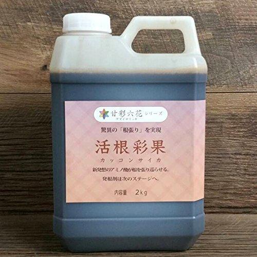 驚異の根張りを実現する液体肥料発根剤 活根彩果(カッコンサイカ) (2kg) B06XZ5HYTD