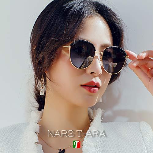 2019 Nuevas gafas de sol de moda Street Shoot, cara ...