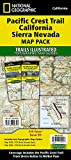 Pacific Crest Trail: California Sierra Nevada [Map