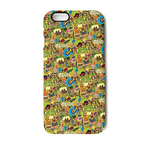 Animals For Kids IPhone 7 Plus/8 Plus Case Bumper Matte TPU Soft Rubber Silicone Protective Back Cover