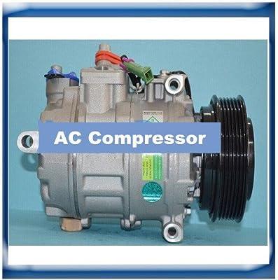 GOWE A/C Compressor for Denso 7SB16C A/C Compressor for Audi A8 A6 A4 VW 4D0260805B 4B0260805B - - Amazon.com