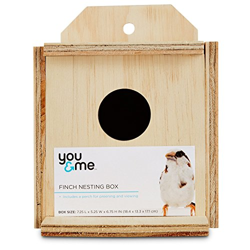 - You & Me Finch Nest Box