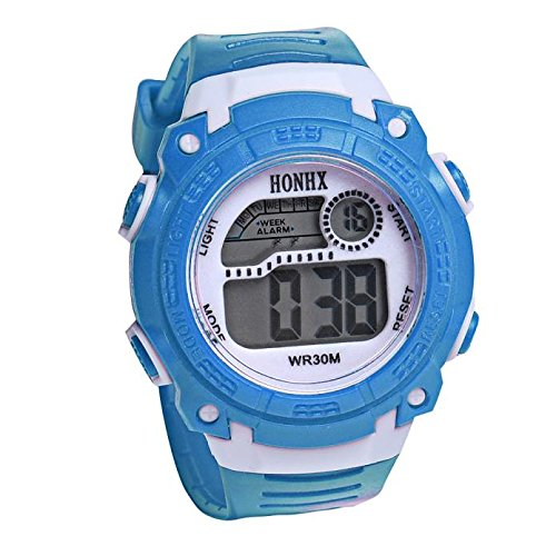 Kanpola Niño Smartwatch Fashion Relojes, Children Girls Digital LED Quartz Alarm Date Sports Wrist Watch LB: Amazon.es: Relojes