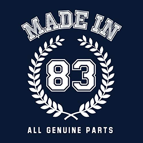 Made 83 In Coto7 Genuine Parts Men's All Sweatshirt Hooded dqZa4