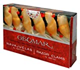 Geomar Gourmet Seafood, Navajuelas Razor Clams 3.2-Ounce Box (Pack of 5)