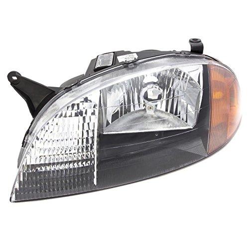 CarPartsDepot Driver Headlight Assembly 91175607 GM2502166 98-01 Geo Metro Firefly Swift L
