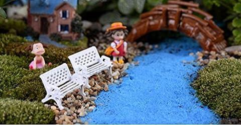 TONGROU Miniature Fairy Dollhouse Landscape Garden Figurine Bonsai Decoration - Pruning Ficus Tree