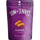Tom & Jenny's Sugar Free Soft Caramels - Keto Diet - Sweetened with Xylitol and Maltitol (Classic Caramel, 1-pack)