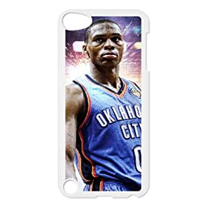 iPod Touch 5 Case White Russell Westbrook PPW Custom DIY Cell Phone Case