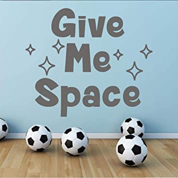 Amazon.com: Wall Stickers Give Me Space Stars Girls Boys ...