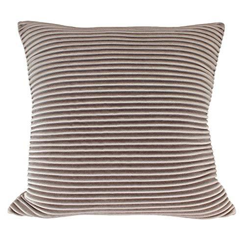 (Better Homes & Gardens Pleated Velvet Decorative Throw Pillow, 18