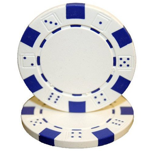 Striped Clay Poker Chips - 4