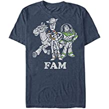 Fifth Sun Toy Story Men's Buzz Lightyear and Woody Fam T-Shirt