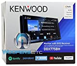 Kenwood DDX775BH In-Dash 2-DIN 6.95'' Touchscreen DVD Receiver with Spotify, Waze, YouTube and Pandora via Weblink