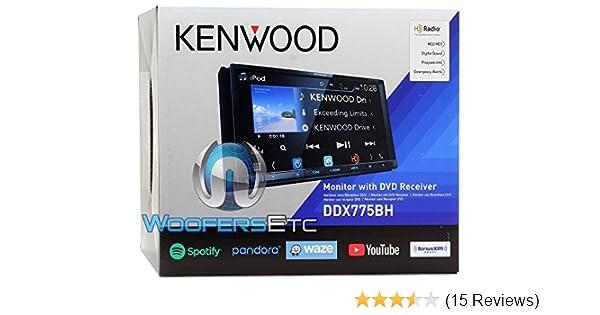 Kenwood DDX775BH In-Dash 2-DIN 6 95