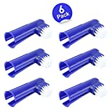 Product review for Pet Dog & Cat Finger Toothbrush, Soft Bristle Pet Toothbrushes Set of 6 Dental Hygiene Toothbrush for Dog / Cat Teeth Care by Honfei
