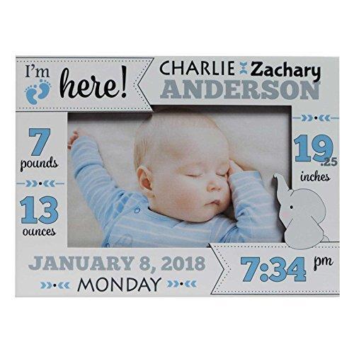 Baby Boy Birth Frame Baby Boy Picture Frame Personalized Baby Picture Frame Picture Frame Baby Boy New Baby Boy Frame Baby Boy Frame