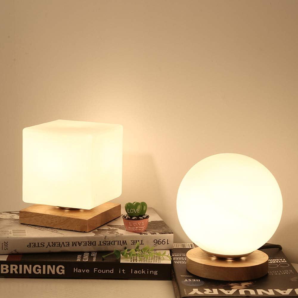 Lámpara de mesilla decoración del dormitorio lámpara de mesa ...