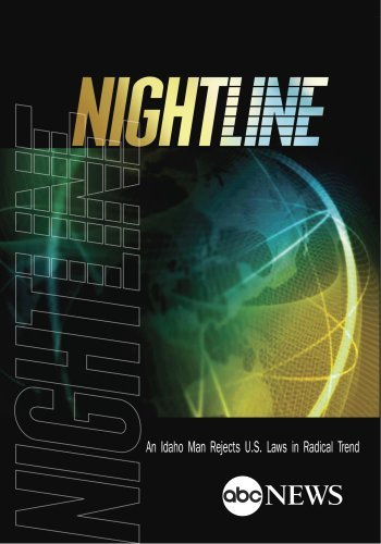 NIGHTLINE: An Idaho Man Rejects U.S. Laws in Radical Trend: 1/8/13 [DVD] [2013] [NTSC] by