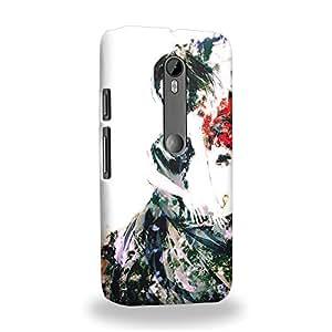 Case88 Premium Designs Tokyo Ghoul Yoshimura Kaneki Ken Carcasa/Funda dura para el Motorola Moto G (3rd gen)