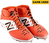 Madison Bumgarner San Francisco Giants Autographed 2014 All Star Game Used Cleats with 2014 ASG Game Used Inscription - Fanatics Authentic Certified