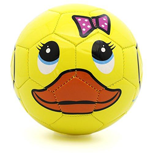 Picador Cute Cartoon Design Soccer Ball for Toddler (Yellow Duck)