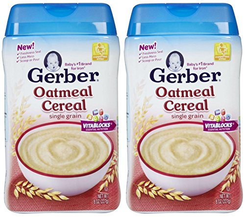 Gerber 1st Foods Baby Cereal - Oatmeal - 8 oz - 2 pack
