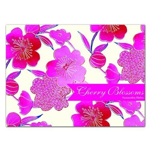 Download Cherry Blossoms: Notecard Boxes -- a stationery flip-top box filled with 20 Notecards perfect for Greetings, Birthdays or Invitations ebook