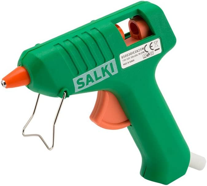 Salki 8500301.0 Pistola Encoladora de Silicona, 25 W, 240 V, Verde