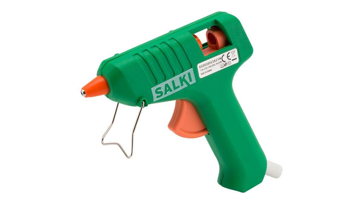 Salki 8500301 Pistola Encoladora de Silicona, 25 W, 240 V, Verde product image