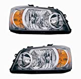 Holiday Rambler Vacationer 2011-2013 RV Motorhome Pair (Left & Right) Replacement Headlights Head Lights Front Lamps