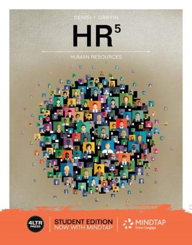 HR (with MindTap, 1 term Printed Access Card) (MindTap Course List)