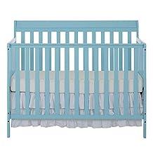 Dream On Me Alissa Convertible 4-in-1 Crib, Aqua Sky
