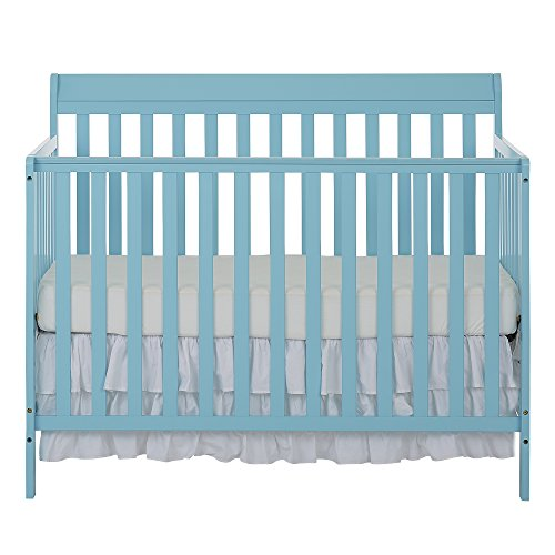 Crib Mattress Height (Dream On Me Alissa Convertible 5-in-1 Convertible Crib)