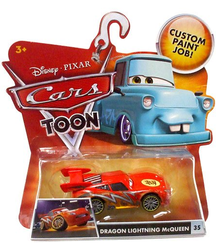Amazon.com Disney / Pixar CARS TOON 155 Die Cast Car Dragon Lightning McQueen Toys u0026 Games  sc 1 st  Amazon.com & Amazon.com: Disney / Pixar CARS TOON 155 Die Cast Car Dragon ... azcodes.com