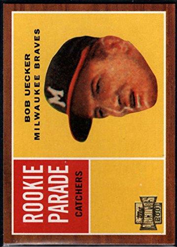 Baseball MLB 2001 Topps Archives #265 Bob Uecker 62 Braves Bob Uecker Baseball