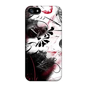 Awesome Grunge Flip Case With Fashion Design For Iphone 5/5s