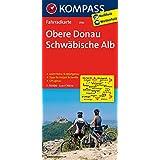 Obere Donau - Schwäbische Alb: Fahrradkarte. GPS-genau. 1:70000 (KOMPASS-Fahrradkarten Deutschland, Band 3110)