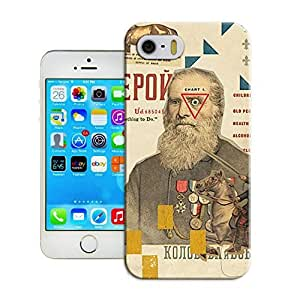 LarryToliver Forever Collectibles Customizable Retro style collage designs Protective iphone 5/5s Hard Case