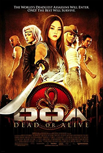 DOA Dead or Alive 27x40 Single Sided Movie Poster