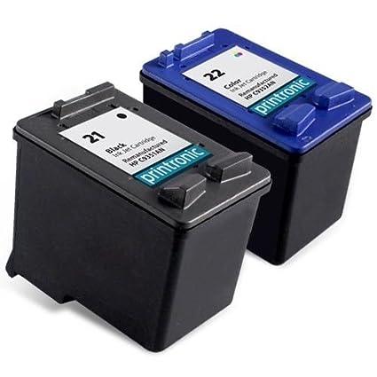 oguan HP 21 X L & HP 22 X L Cartuchos de tinta - 1 x HP21 & 1 x ...